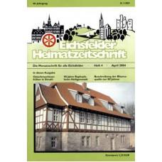 Eichsfelder Heimatzeitschrift, Heft 4, April 2004