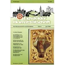 Eichsfelder Heimatzeitschrift, Heft 6, Juni 2004