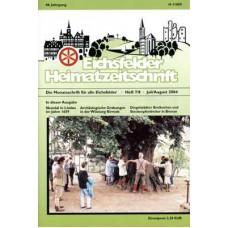 Eichsfelder Heimatzeitschrift, Heft 7/8, Juli/August 2004