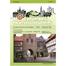 Eichsfelder Heimatzeitschrift, Heft 9, September 2004