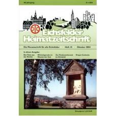 Eichsfelder Heimatzeitschrift, Heft 10, Oktober 2004