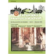 Eichsfelder Heimatzeitschrift, Heft 12, Dezember 2004