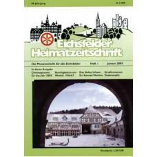 Eichsfelder Heimatzeitschrift, Heft 1, Januar 2005