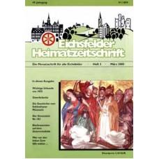 Eichsfelder Heimatzeitschrift, Heft 3, März 2005