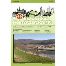 Eichsfelder Heimatzeitschrift, Heft 4, April 2005