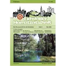 Eichsfelder Heimatzeitschrift, Heft 5, Mai 2005