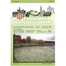 Eichsfelder Heimatzeitschrift, Heft 9, September 2005