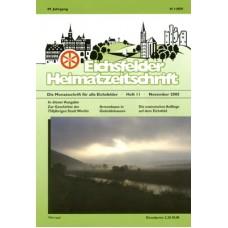 Eichsfelder Heimatzeitschrift, Heft 11, November 2005