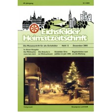 Eichsfelder Heimatzeitschrift, Heft 12, Dezember 2005