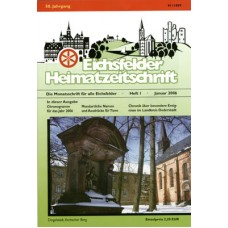 Eichsfelder Heimatzeitschrift, Heft 1, Januar 2006