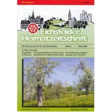 Eichsfelder Heimatzeitschrift, Heft 5, Mai 2006
