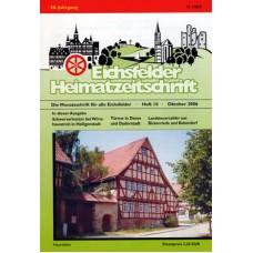 Eichsfelder Heimatzeitschrift, Heft 10, Oktober 2006