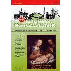 Eichsfelder Heimatzeitschrift, Heft 12, Dezember 2006