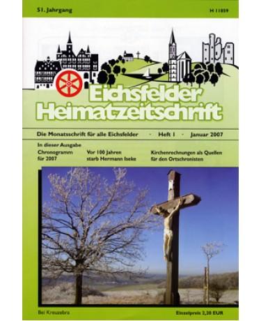 Eichsfelder Heimatzeitschrift, Heft 1, Januar 2007