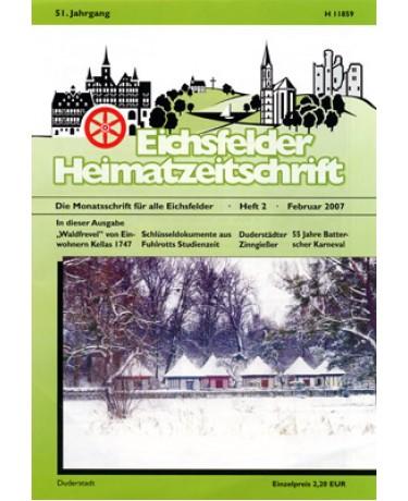 Eichsfelder Heimatzeitschrift, Heft 2, Februar 2007