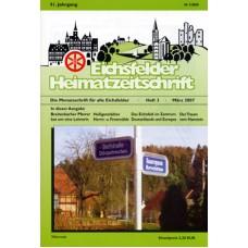 Eichsfelder Heimatzeitschrift, Heft 3, März 2007