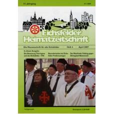 Eichsfelder Heimatzeitschrift, Heft 4, April 2007