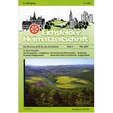 Eichsfelder Heimatzeitschrift, Heft 5, Mai 2007