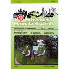 Eichsfelder Heimatzeitschrift, Heft 6, Juni 2007