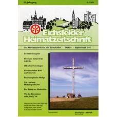 Eichsfelder Heimatzeitschrift, Heft 9, September 2007
