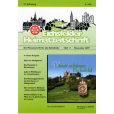 Eichsfelder Heimatzeitschrift, Heft 11, November 2007
