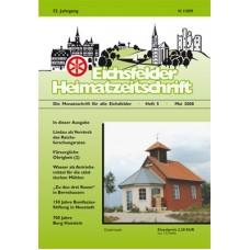 Eichsfelder Heimatzeitschrift, Heft 5, Mai 2008