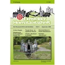 Eichsfelder Heimatzeitschrift, Heft 9, September 2008