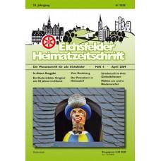 Eichsfelder Heimatzeitschrift, Heft 4, April 2009