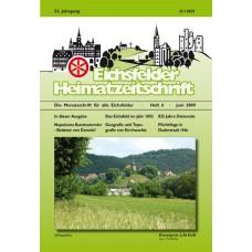 Eichsfelder Heimatzeitschrift, Heft 6, Juni 2009