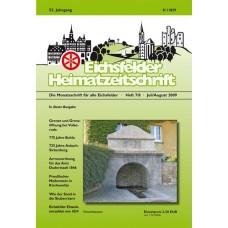 Eichsfelder Heimatzeitschrift, Heft 7+8, Juli und August 2009