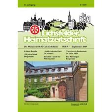 Eichsfelder Heimatzeitschrift, Heft 9, September 2009