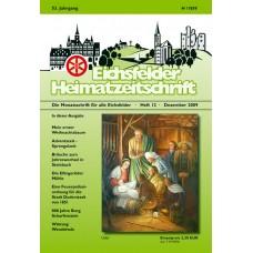 Eichsfelder Heimatzeitschrift, Heft 12, Dezember 2009