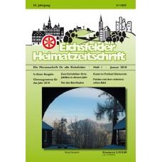 Eichsfelder Heimatzeitschrift, Heft 1, Januar 2010