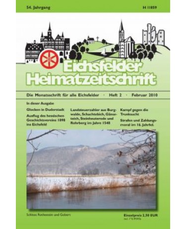 Eichsfelder Heimatzeitschrift, Heft 2, Februar 2010