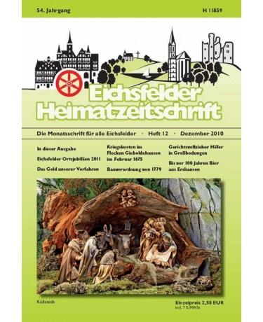Eichsfelder Heimatzeitschrift, Heft 12, Dezember 2010