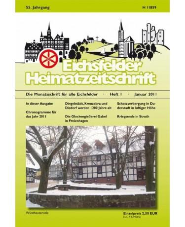 Eichsfelder Heimatzeitschrift, Heft 1, Januar 2011