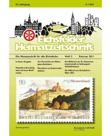 Eichsfelder Heimatzeitschrift, Heft 2, Februar 2011