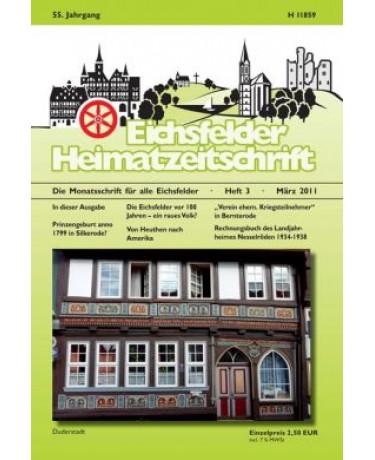 Eichsfelder Heimatzeitschrift, Heft 3, März 2011