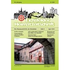 Eichsfelder Heimatzeitschrift, Heft 4, April 2011