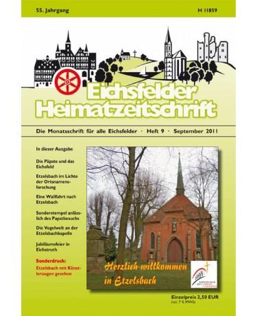 Eichsfelder Heimatzeitschrift, Heft 9, September 2011