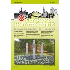 Eichsfelder Heimatzeitschrift, Heft 11, November 2011