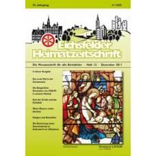 Eichsfelder Heimatzeitschrift, Heft 12, Dezember 2011