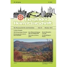 Eichsfelder Heimatzeitschrift, Heft 10, Oktober 2012