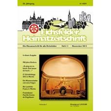 Eichsfelder Heimatzeitschrift, Heft 11, November 2012