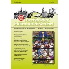 Eichsfelder Heimatzeitschrift, Heft 12, Dezember 2012