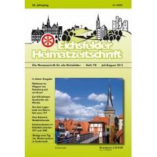 Eichsfelder Heimatzeitschrift, Heft 7 und 8, Juli + August 2012