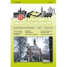 Eichsfelder Heimatzeitschrift, Heft 2, Februar 2014