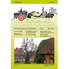 Eichsfelder Heimatzeitschrift, Heft 3, März 2014