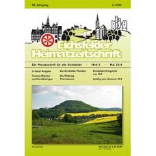 Eichsfelder Heimatzeitschrift, Heft 5, Mai 2014