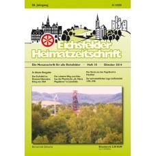Eichsfelder Heimatzeitschrift, Heft 10, Oktober 2014